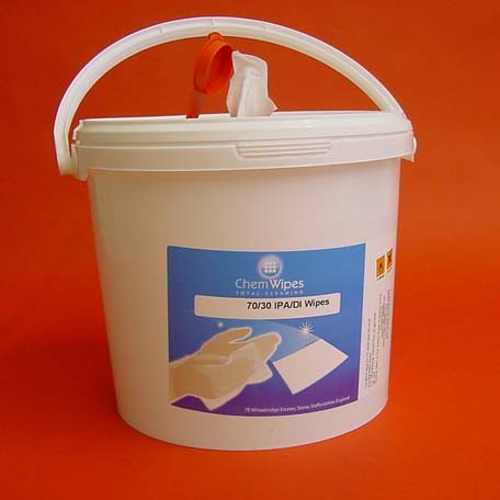 IPA / DI Wipes Bucket, 250