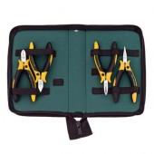 Professional ESD pliers set, 4 pcs