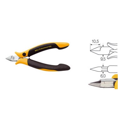 Diagonal cutter Professional ESD
