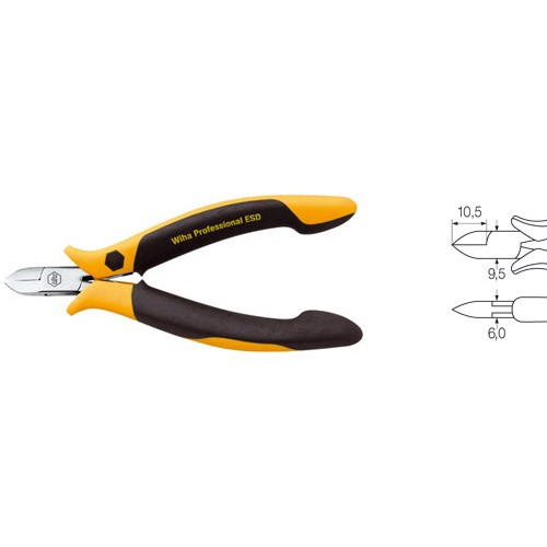 Diagonal cutters Professional ESD