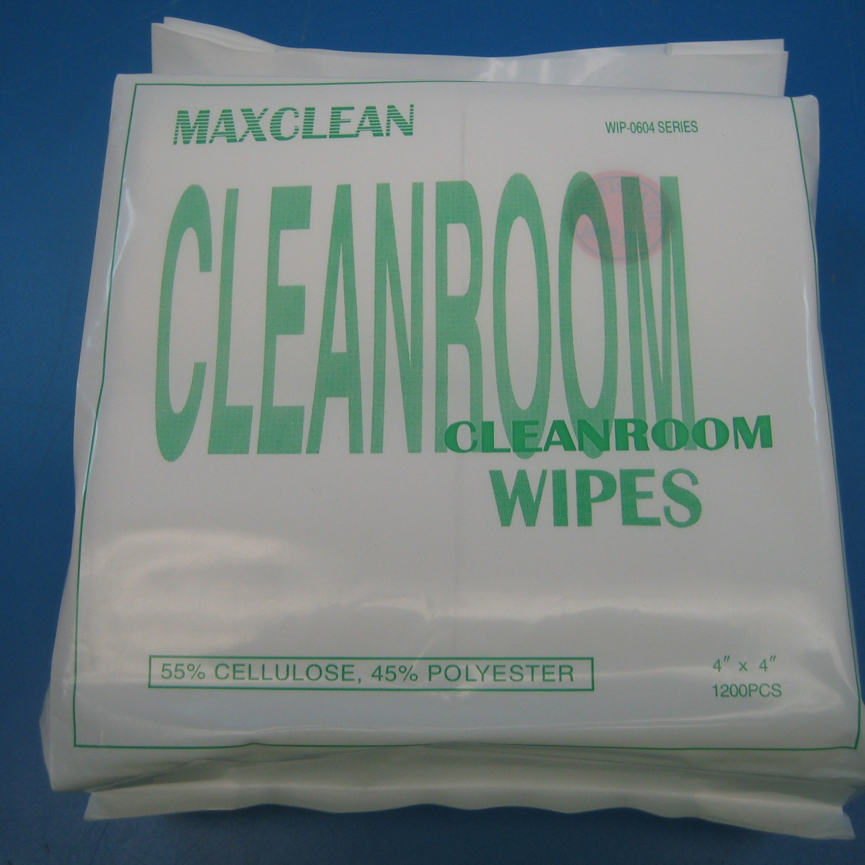"Antistatic Clean Room Wipes, 4"" x 4"""