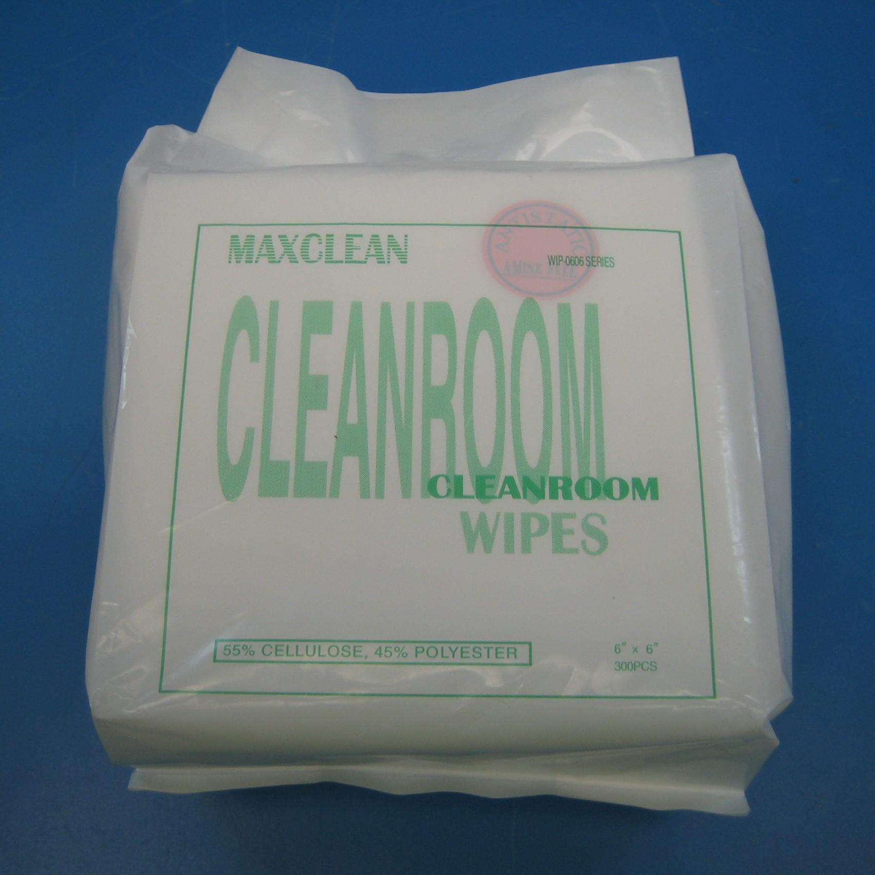 "Antistatic Clean Room Wipes, 6"" x 6"""