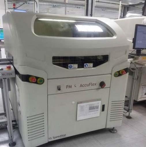 MPM Accuflex Automatic Inline Screen Printer