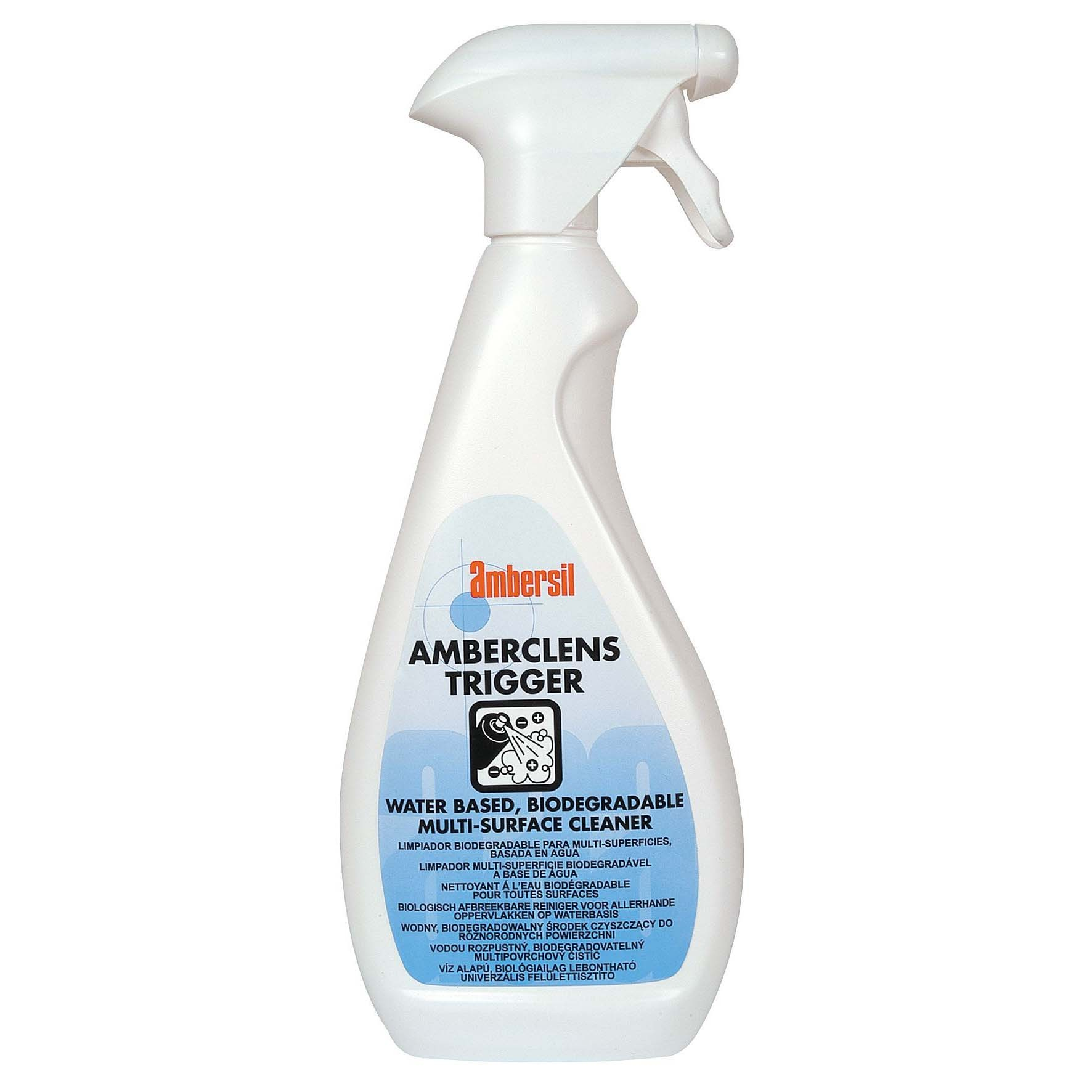 Ambersil, Amberclens, Trigger Spray, 750ml