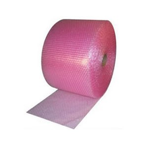 Pink Anti-static Bubble Wrap