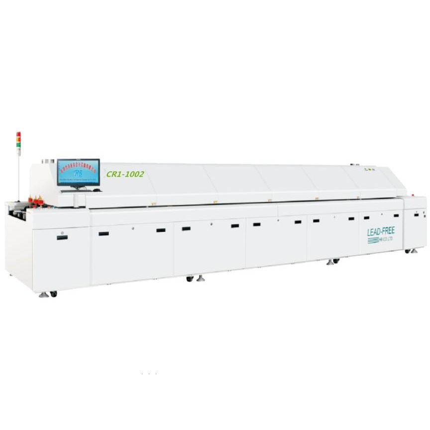 HB Convection Reflow Oven, CR1-1202, 12 Zone