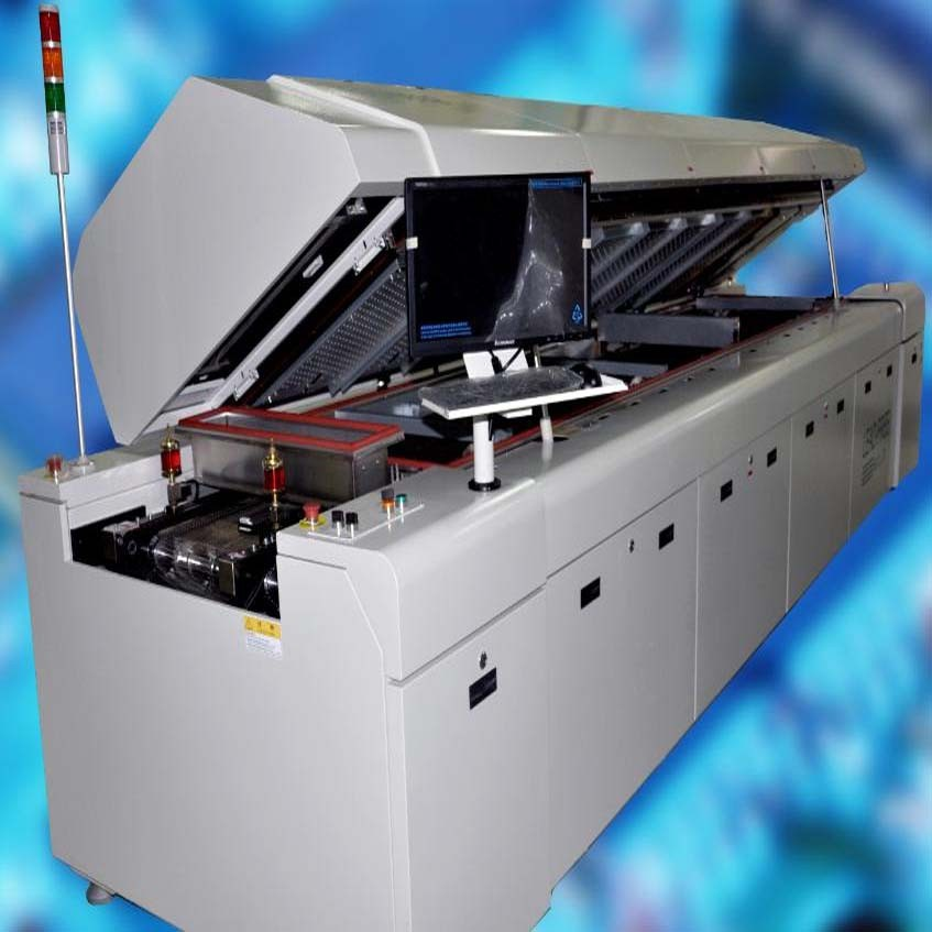 HB Convection Reflow Oven, CR1-0802, 8 Zone