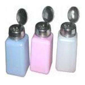 Flux Dispensor pumped Bottle 180ml, Pink ESD