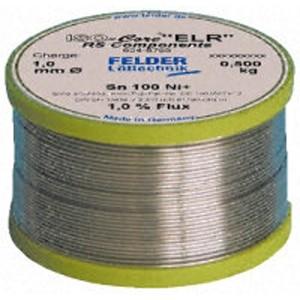 Solder Wire, Felder ISO-Core® Lead Free SAC387 500g Reel