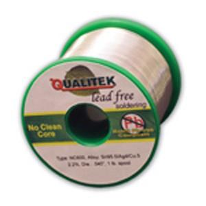Qualitek Solder Wire, NC600, Sn100e