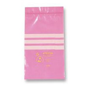 Bags, Pink Anti Static Zip Lock