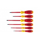 SoftFinish Screwdriver Set, Electric, Slotted & Pozidriv, 6pcs