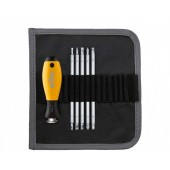 ESD System 6 Interchangeable Blade Set with SoftFinish Screwdriver Handle, 6pcs