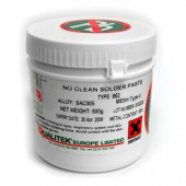 Solder Paste, Q-798, Water Soluble Lead Free SAC305
